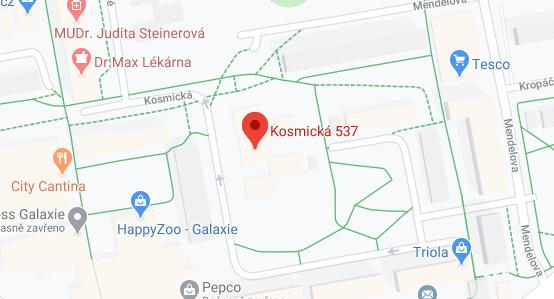 Mapa Palas Atheny